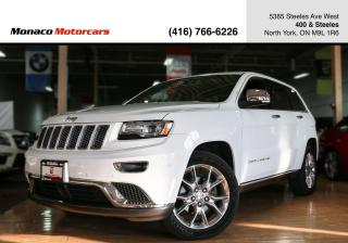 Used 2015 Jeep Grand Cherokee 4WD SUMMIT - ADAPTIVE CRUSIE|NAVI|BACKUP|PANO for sale in North York, ON