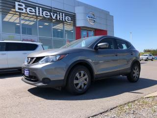 Used 2017 Nissan Qashqai S MANUAL, HEATED SEATS, 1 OWNER, CLEEN CARPROOF for sale in Belleville, ON
