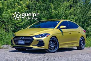 Used 2017 Hyundai Elantra Sport 6SPD MANUAL, Htd Seats + Wheel, Apple Carplay for sale in Guelph, ON