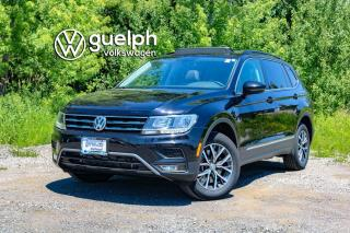 Used 2018 Volkswagen Tiguan Comfortline 4motion Blind Spot Monitor, Heated Seats, SXM for sale in Guelph, ON
