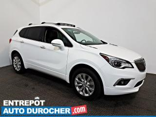 Used 2017 Buick Envision Essence AWD NAVIGATION - Toit Ouvrant - A/C - Cuir for sale in Laval, QC