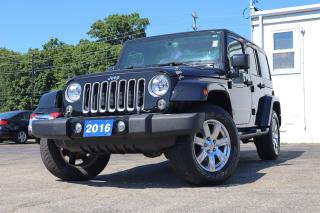Used 2016 Jeep Wrangler Unlimited Sahara | Navi | Remote Start | Hardtop for sale in Waterloo, ON