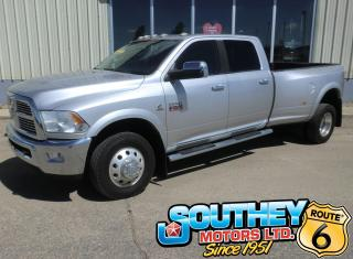Used 2012 RAM 3500 Laramie Heavy Duty 4x4 - Long Box Dually for sale in Southey, SK