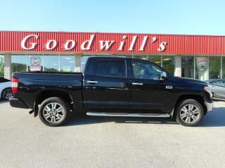 Used 2017 Toyota Tundra MAX! 1794 EDITION! HEATED & COOLED LEATHER! NAV! for sale in Aylmer, ON