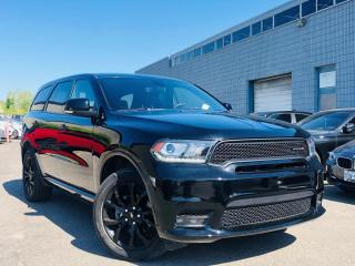 Used 2019 Dodge Durango |GT|7 PASSENGER|AWD|BLACK TOP|ENTERTAINMENT SYS|SUNROOF| for sale in Brampton, ON