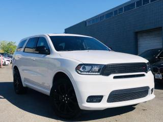 Used 2019 Dodge Durango |GT|AWD|BLACK TOP PKG|ENTERTAINMENT SYS|SUNROOF|REAR CAM| for sale in Brampton, ON