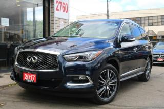 Used 2017 Infiniti QX60 DVD, Navi, Dual Roof, 360 Cam, Lane Depart, Very Clean for sale in North York, ON