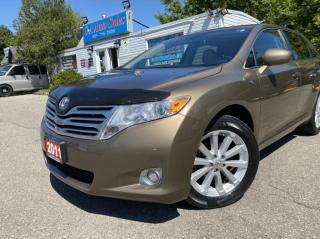 Used 2011 Toyota Venza 4dr Wgn  EXTR CLEAN ! NO ACCIDENTS ONTARIO for sale in Brampton, ON