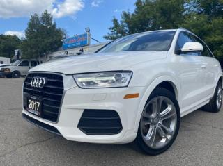 Used 2017 Audi Q3 quattro 4dr 2.0T Progressive with PUSH START BACK UP SUNROOF for sale in Brampton, ON