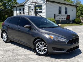 Used 2015 Ford Focus Hatchback Bluetooth Backup Cam Heated Seats for sale in Sutton, ON