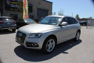 Used 2013 Audi Q5 S-LINE,NAVI,PANAROOF,SPORT SEATS for sale in Newmarket, ON