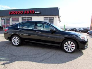 Used 2013 Honda Accord EX-L V6 Sedan Automatic Camera Bluetooth for sale in Milton, ON