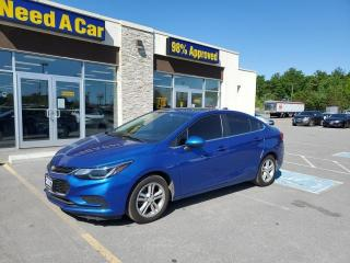 Used 2017 Chevrolet Cruze LT Auto Sunroof Heated Seats BackUp Cam for sale in Trenton, ON