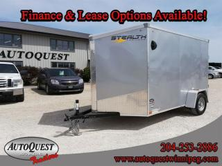 Used 2021 Stealth Cargo Trailer 6' x 10' V-Nose for sale in Winnipeg, MB