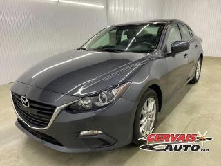 Used 2016 Mazda MAZDA3 GS GPS MAGS CAMÉRA DE RECUL *Bas Kilométrage* for sale in Shawinigan, QC