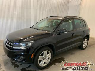 Used 2016 Volkswagen Tiguan Comfortline 4Motion GPS Cuir Toit Panoramique MAGS for sale in Trois-Rivières, QC