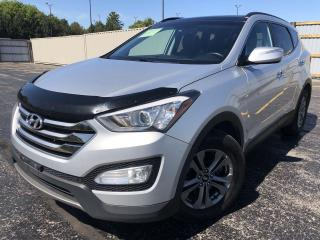 Used 2016 Hyundai Santa Fe LUXURY AWD for sale in Cayuga, ON
