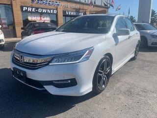 Used 2016 Honda Accord Sedan 4dr I4 CVT Touring for sale in North York, ON