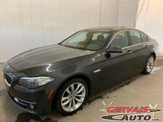 Used 2016 BMW 5 Series 528i xDrive Cuir GPS Toit ouvrant Mags for sale in Trois-Rivières, QC