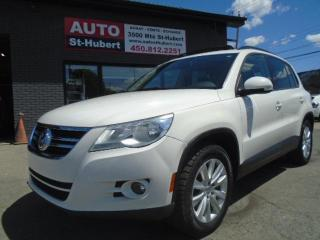 Used 2009 Volkswagen Tiguan Trendline for sale in St-Hubert, QC