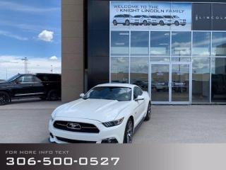 Used 2015 Ford Mustang GT 50 Years Limited Edition, Only 300 Canadian Versions Made!!! for sale in Moose Jaw, SK