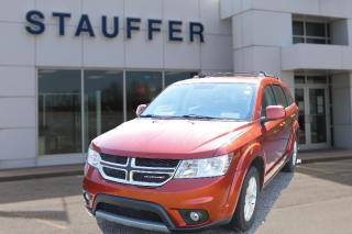 Used 2014 Dodge Journey SXT for sale in Tillsonburg, ON