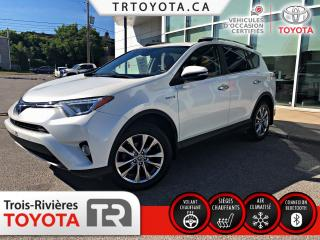 Used 2017 Toyota RAV4 Hybrid Limited 4 portes for sale in Trois-Rivières, QC
