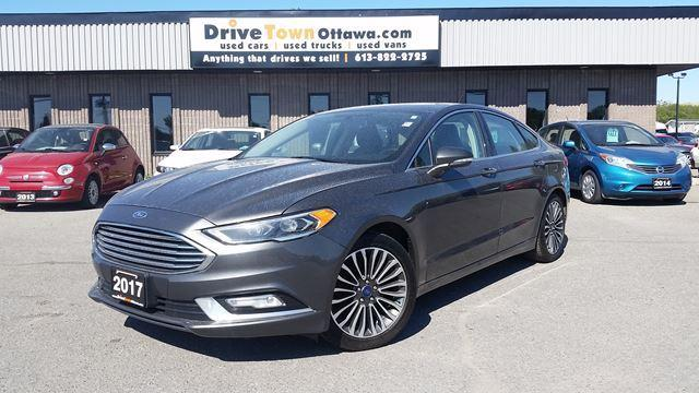 2017 Ford Fusion SE AWD **NAVIGATION**LEATHER**MOONROOF**