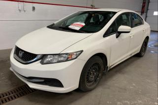 Used 2015 Honda Civic LX A/C CAMERA DE RECUL for sale in Île-Perrot, QC
