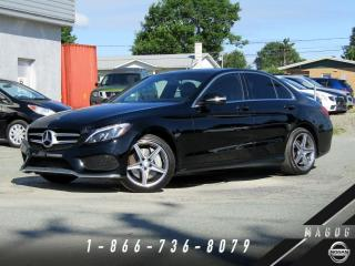 Used 2015 Mercedes-Benz C-Class C 300 + 4MATIC + GR SPORT + PREMIUM + NA for sale in Magog, QC