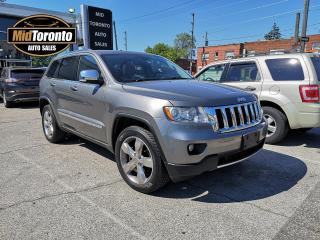 Used 2012 Jeep Grand Cherokee Overland | 4WD | Nav | Roof | Leather | No Accidents | Jeep Dealer Serviced | 20 Inch Wheels for sale in North York, ON