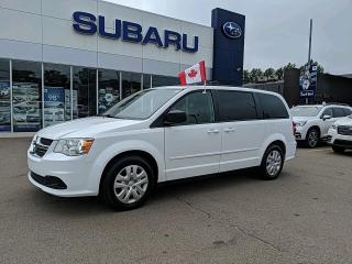 Used 2016 Dodge Grand Caravan SE/SXT SXT | FRESH TRADE-IN | CAPTAIN'S CHAIRS | 2ND AND 3RD ROW STOW N GO for sale in Charlottetown, PE