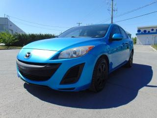 Used 2010 Mazda MAZDA3 ****TOIT OUVRANT*******BLUETOOTH****** for sale in St-Eustache, QC