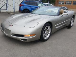 Used 2001 Chevrolet Corvette for sale in Regina, SK