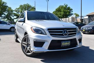 Used 2015 Mercedes-Benz M-Class ML63 AMG - FULLY LOADED for sale in Oakville, ON