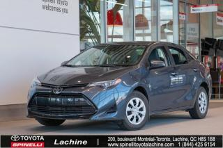 Used 2017 Toyota Corolla CE BAS KILOMÉTRAGE! for sale in Lachine, QC