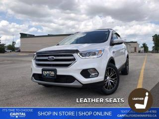 Used 2017 Ford Escape Titanium 4WD *Ask about 1.9%! for sale in Winnipeg, MB