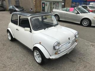 Used 1995 MINI Cooper 4 SPEED! A/C! 1275 CC FUEL INJECTED! ODOMETER IN MILES! for sale in Etobicoke, ON
