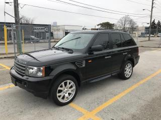 Used 2008 Land Rover Range Rover Sport HSE CERTIFIED for sale in Etobicoke, ON