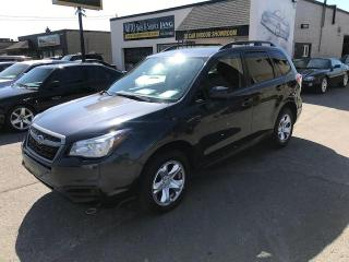 Used 2017 Subaru Forester 2.5i Convenience 1 OWNER , CERTIFIED , NO ACCIDENTS for sale in Etobicoke, ON