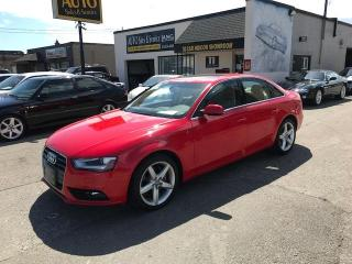 Used 2014 Audi A4 2.0 Progressiv 1 OWNER DEALER MAINTAINED ONLY 574OO KMS for sale in Etobicoke, ON