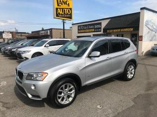 Used 2013 BMW X3 xDrive28i NO ACCIDENTS, NAVI ,  LOADED for sale in Etobicoke, ON