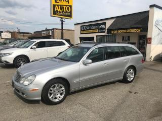 Used 2004 Mercedes-Benz E-Class LOW MILEAGE,  3RD SEAT for sale in Etobicoke, ON