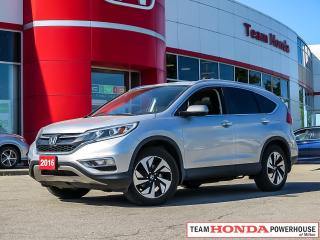 Used 2016 Honda CR-V Touring for sale in Milton, ON