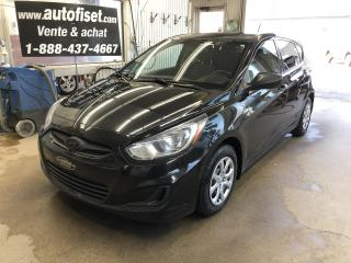 Used 2014 Hyundai Accent 5dr HAYON Manuel  GL $34.54/sem+taxes for sale in St-Raymond, QC