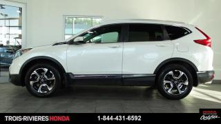 Used 2018 Honda CR-V TOURING + GARANTIE 4/100 + CUIR + GPS ! for sale in Trois-Rivières, QC