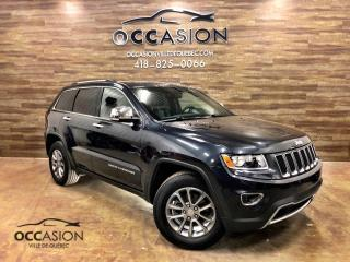 Used 2014 Jeep Grand Cherokee JEEP GRAND CHEROKEE  Limited 2014 72577 for sale in Ste-Brigitte-de-Laval, QC