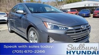 New 2020 Hyundai Elantra for sale in Sudbury, ON