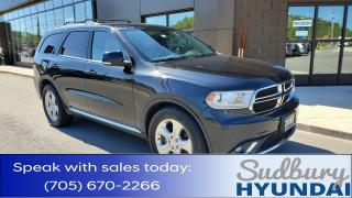 Used 2015 Dodge Durango Limited Leather! Low KMs! 7 Seater! for sale in Sudbury, ON