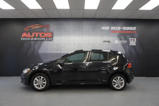 Used 2016 Volkswagen Golf TRENDLINE TSI AUTO MAGS CAMERA BLUETOOTH 112 492 for sale in Lévis, QC